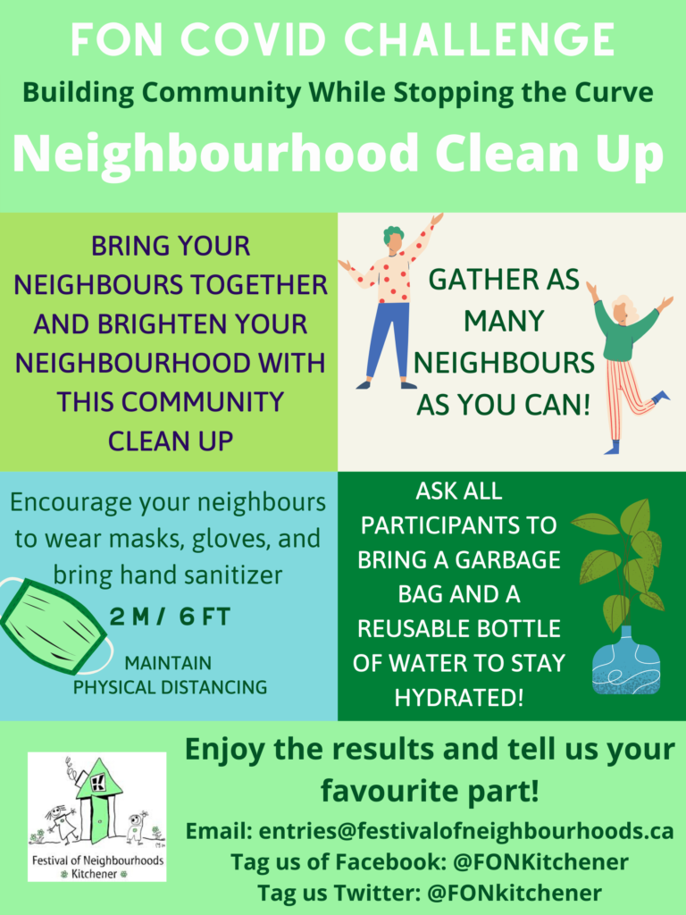 Neighbourhood Clean Up Challente